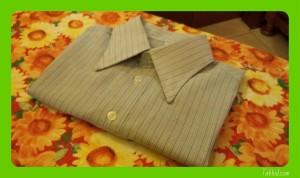 Camicia piegata