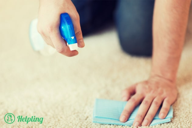 pulire tappeto
