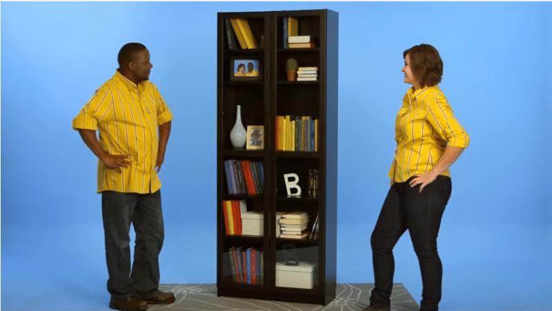 Montaggio libreria