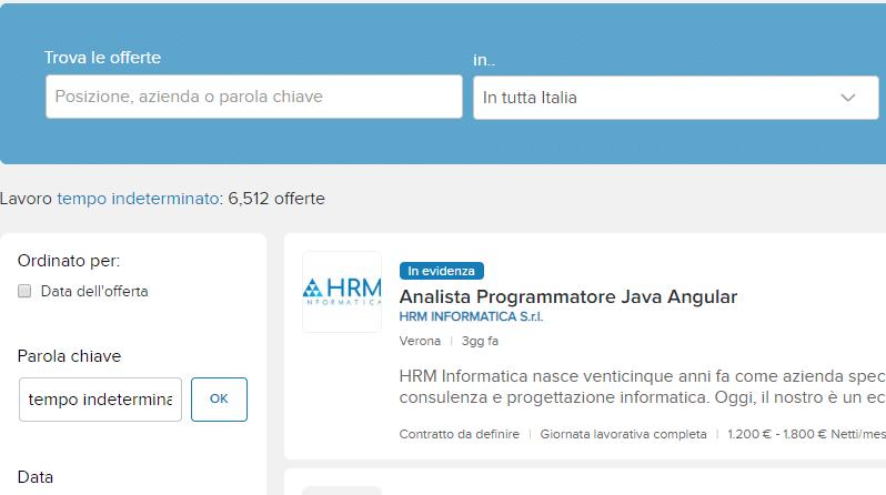 Infojobs: Annunci di lavoro 2021